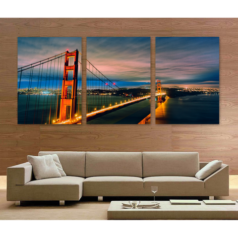Golden Gate Bridge-Medium-Not Framed-Cool Tees & Things