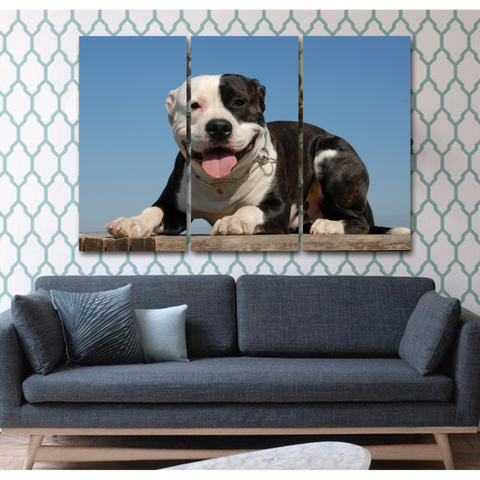 Happy Pit Bull - Cool Tees and Things