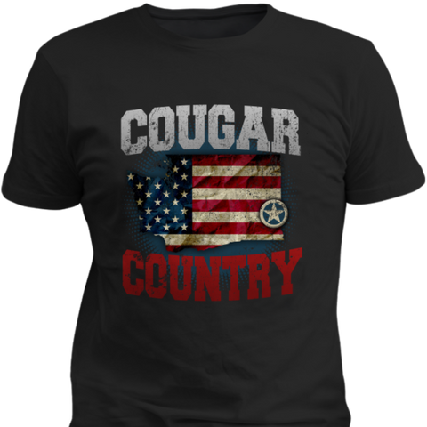 Home Is Cougar Country - Cool Tees and Things