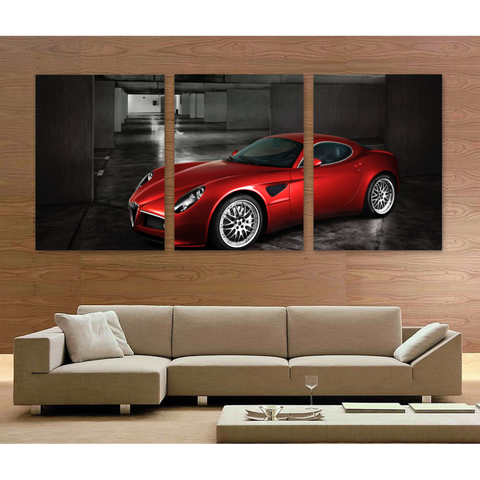 Italian Sports Car-Medium-Not Framed-Cool Tees & Things