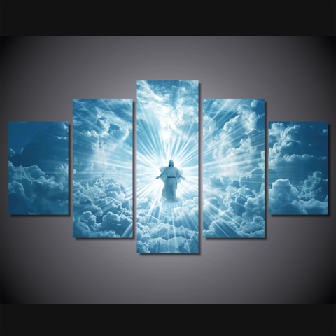 Jesus Is Coming Limited Edition-Christian Large Framed Canvas Art Mural - Cool Tees and Things