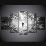 Jesus Is Coming Limited Edition Grayscale-Medium-Not Framed-Gray,White-Cool Tees & Things