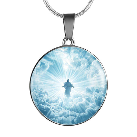 Jesus Is Coming Limited Edition  Pendant Necklace - Cool Tees and Things