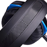 Kotion Each G2000 Over-ear 3.5mm Stretchable Band Online Games Headphone - Blue - Cool Tees and Things