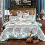 Luxury Bedding Sets. Jacquard Queen/King Size Duvet Cover Set - Cool Tees and Things