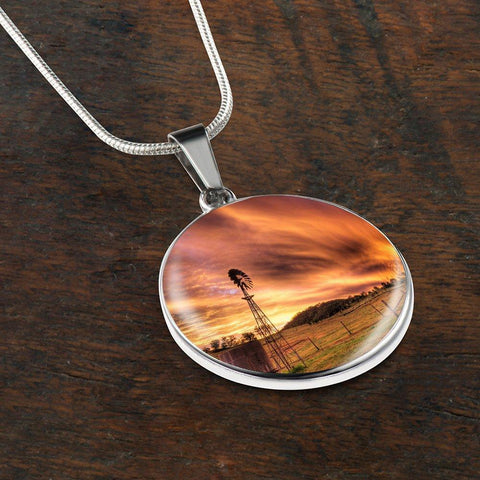 Magnificent Country Pendant Necklace - Cool Tees and Things