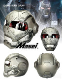 MASEI Iron Man Half Open Face Motocross Helmet - Cool Tees and Things