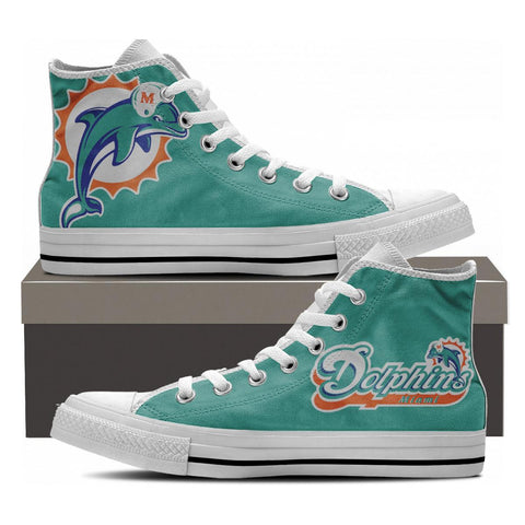 Miami Fans High Tops - Cool Tees and Things