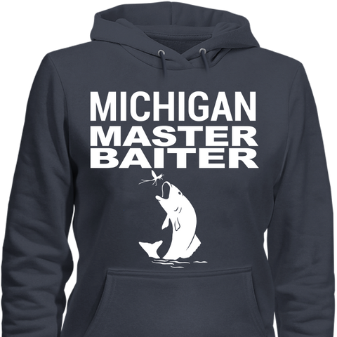Michigan Master Baiter - Cool Tees and Things