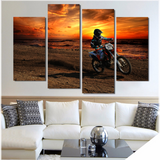 Motocross at Sunset - Cool Tees and Things
