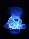 Personalized Dog Led Night Light - Cool Tees and Things