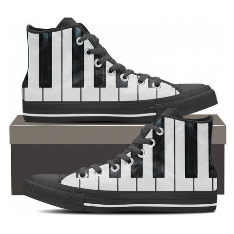 Piano High Tops - Cool Tees and Things