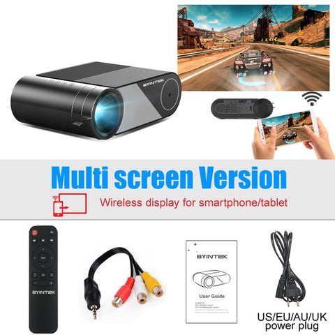 Byintek Home Theater HD Mini Projector