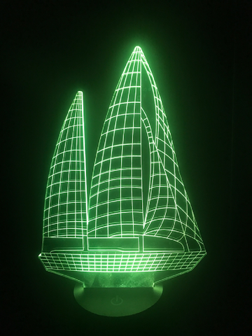 Sailboat Led Night Light