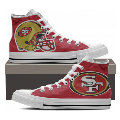 San Francisco Fans High Tops - Cool Tees and Things