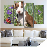 Sassy Pit Bull-Medium-Not Framed-Cool Tees & Things