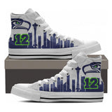 Seattle Fans High Tops - Cool Tees and Things