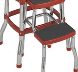 Step Stool, Red / Cosco 11120RED1 Retro Chair - Cool Tees and Things