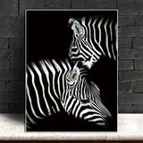 Stunning Animal Canvas Prints- Not Framed Home Decor-20X30cmX1PC no frame-GhostWhite-Cool Tees & Things