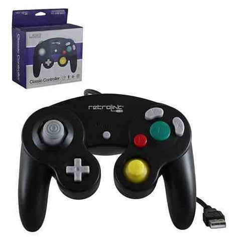 Style USB Wired Controller Retro Link GameCube - Cool Tees and Things