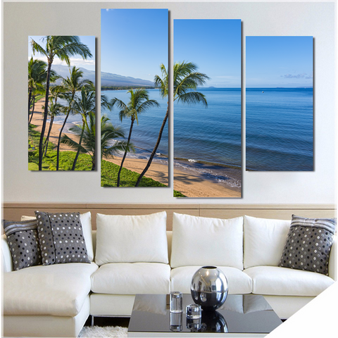 Sugar Beach Kihei Maui Hawaii-Medium-Not Framed-Cool Tees & Things