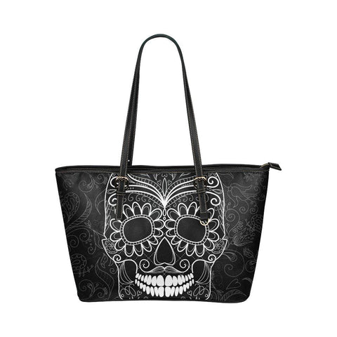 Sugar Skull Tote - Cool Tees and Things