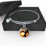 Sunset Cross Bangle - Cool Tees and Things
