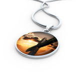 Sunset Cross Pendant - Cool Tees and Things