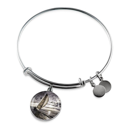 Sunset Sailing Bangle - Cool Tees and Things