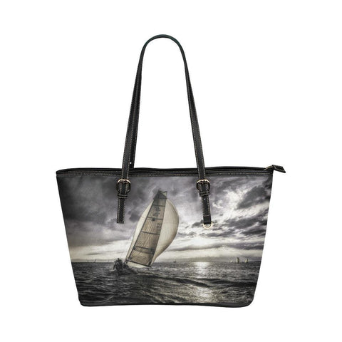 Sunset Sailing Tote - Cool Tees and Things