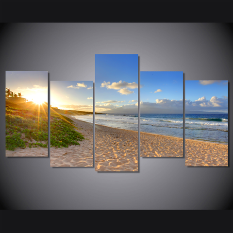 Tropical Beach Sunset Hawaii - Cool Tees and Things