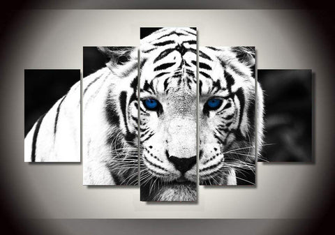 White Tiger Stare - Cool Tees and Things