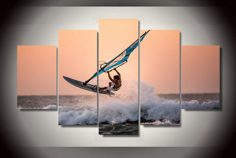 Wind Surfing-Medium-Not Framed-Cool Tees & Things