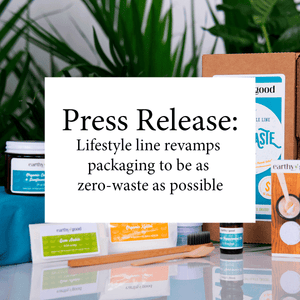 PRESS RELEASE: Lifestyle line revamps packaging to be as zero-waste as possible