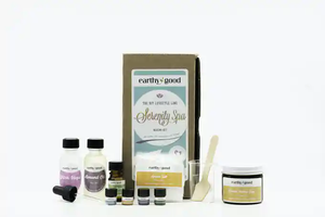 Serenity spa kit contents