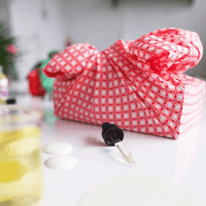 Our furoshiki gift wrapping cloth