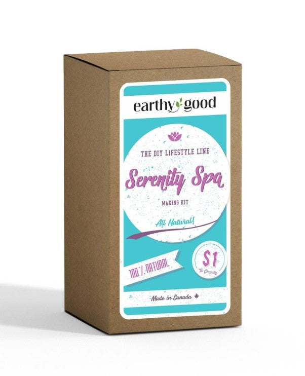 All-Natural DIY Serenity Spa Kit