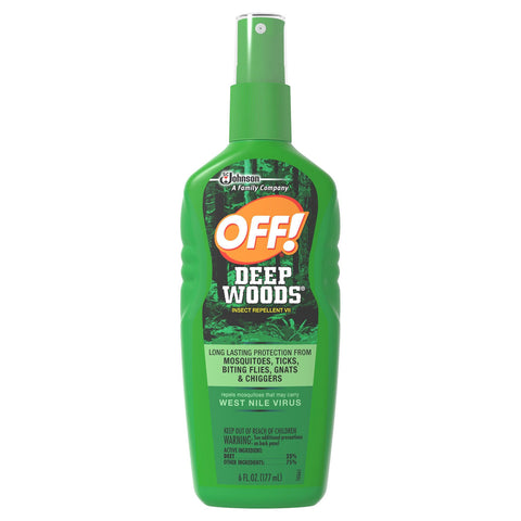 OFF! Deep Woods Insect Repellent 6 Oz. - 6 Pack