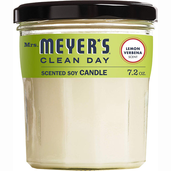 Mrs. Meyer's Clean Day Scented Soy Candle Lavender Scent 7.2 Oz - 2 Pack