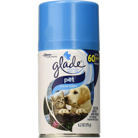 Glade Automatic Spray Refill Pet Clean Scent - 4 Pack