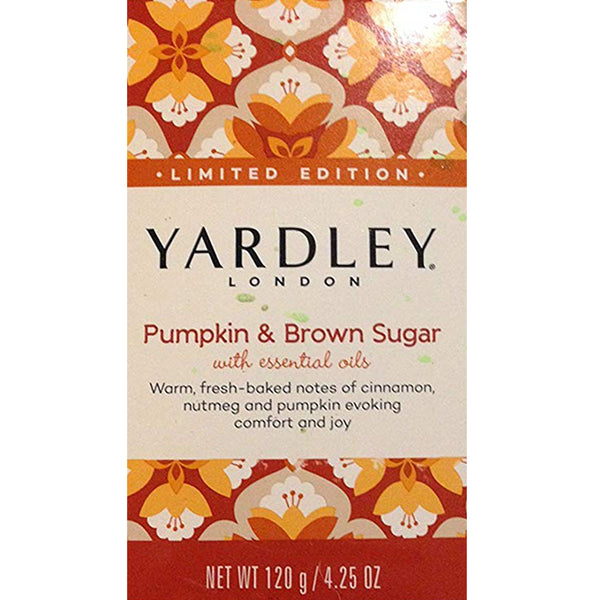 Yardley Bar Soap Pumpkin & Brown Sugar - 6 Pack