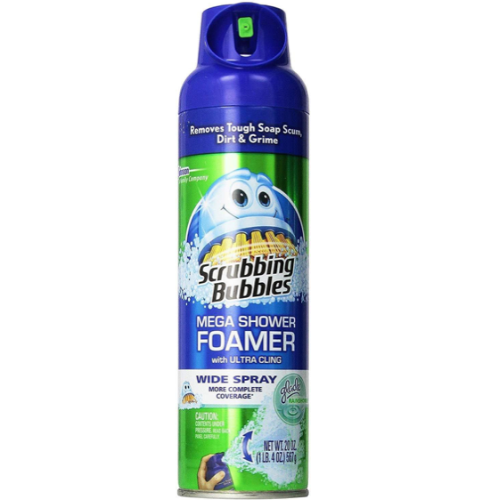 Scrubbing Bubbles Shower Cleaner Mega Foamer