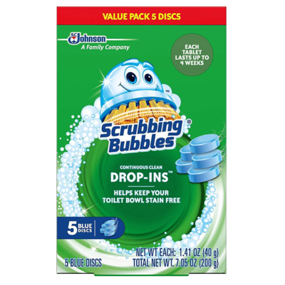 Scrubbing Bubbles Vanish Continuous Clean Toilet Bowl Drop-Ins