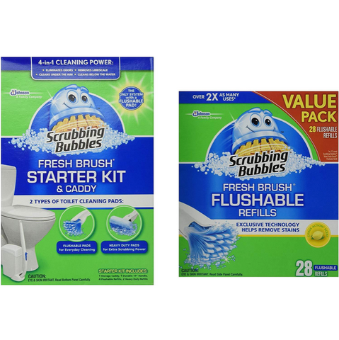 Scrubbing Bubbles Fresh BRUSH Max Starter Kit