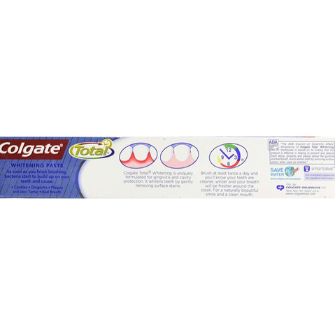 Colgate Total Fluoride Toothpaste Whitening