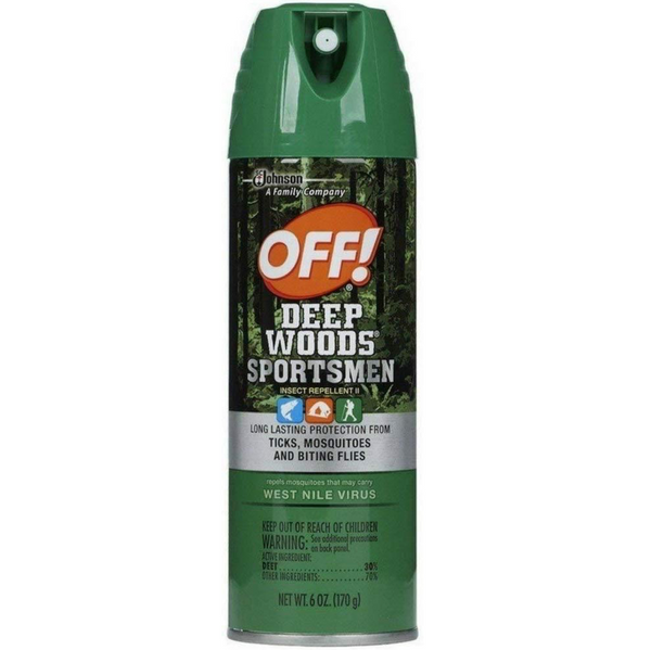 OFF! Deep Woods Sportsman Insect Repellent, 3 Pack