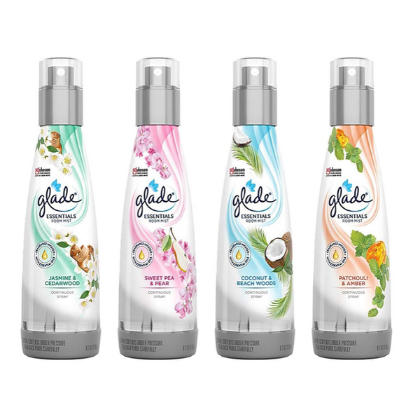 Glade Fine Fragrance Mist, 6.2 oz, Variety Pack, Pack of 1