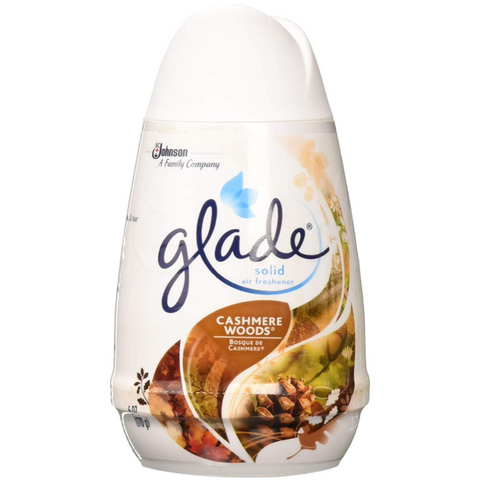 Glade Cashmere Woods Solid Air Freshener 6oz (170 g), 6 pcs