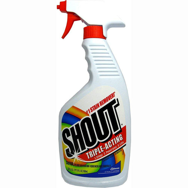 Shout Triple-Acting Laundry Stain Remover 22 Oz - 3 Pack