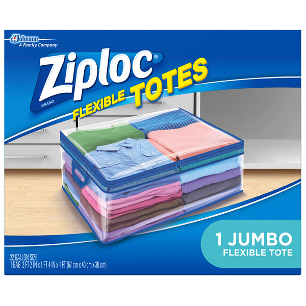 Ziploc Flexible Totes Jumbo - 3 Pack